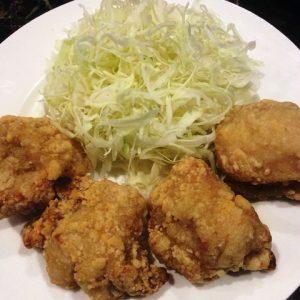170105鶏モモの竜田揚げ